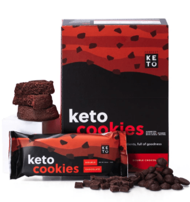 double chocolate keto cookies