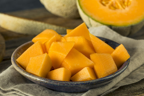 keto friendly fruit cantaloupe