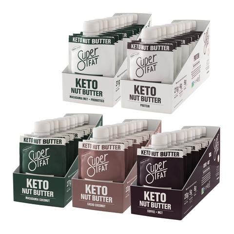 keto friendly on the go nut butter