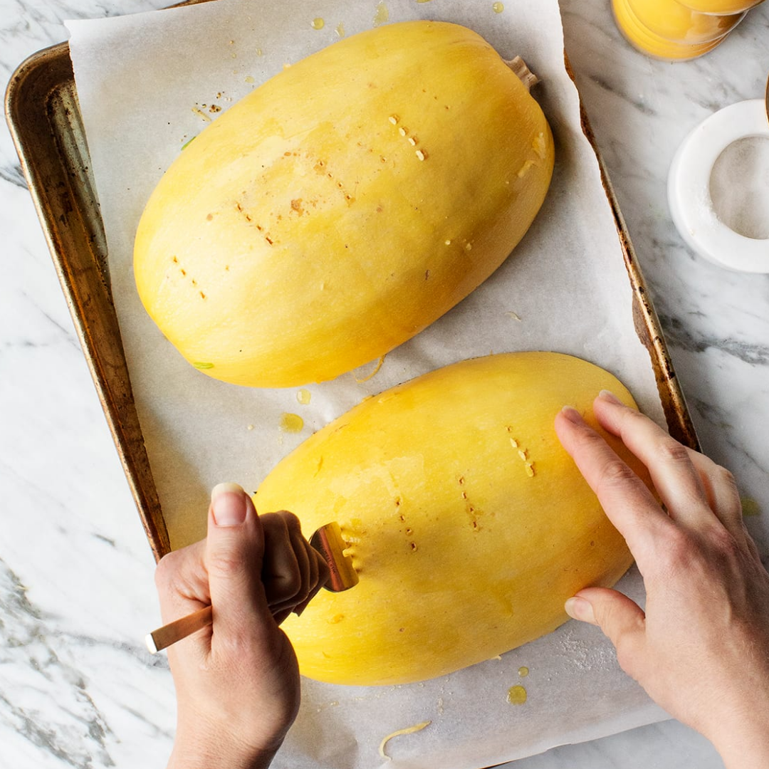 how to prep a delicious low carb spaghetti squash meal