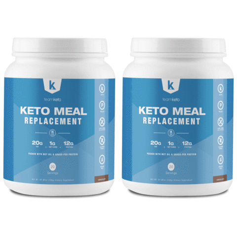 team keto meal replacement shakes