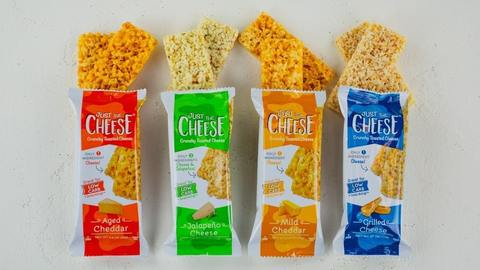 keto friendly dehydrated cheese snack