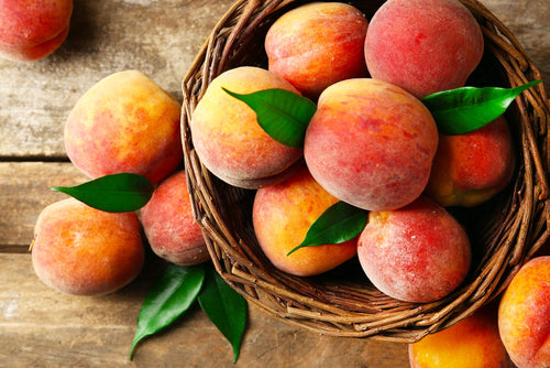 low carb fruit peaches