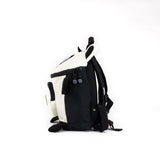 Panda Shape Backpack Black