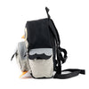 Owl Shape Backpack Grey melange
