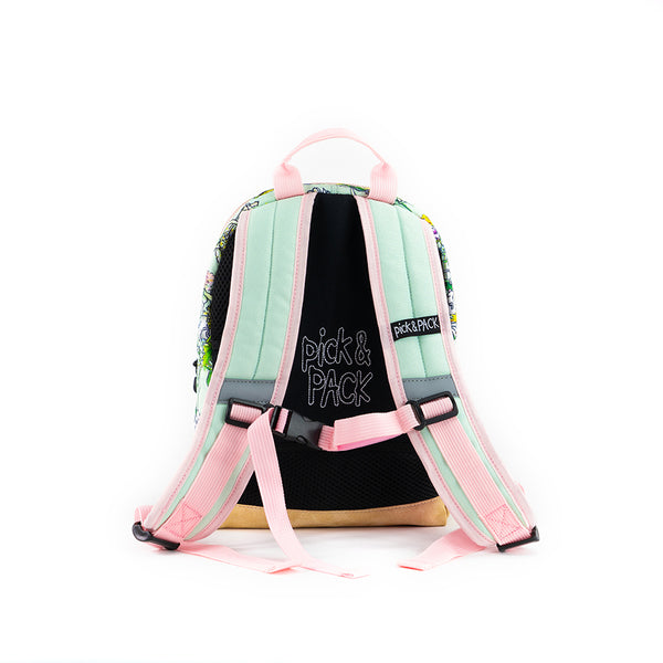 Mice Backpack S Aqua