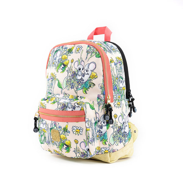 Mice Backpack M Pink