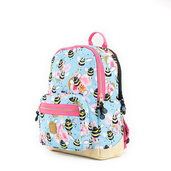 Bee Backpack M Sky Blue