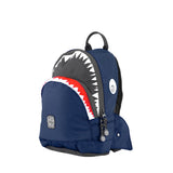 Shark Shape Backpack S Navy