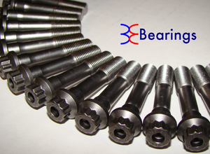 BE Bearings Rod Bolts - BMW S65