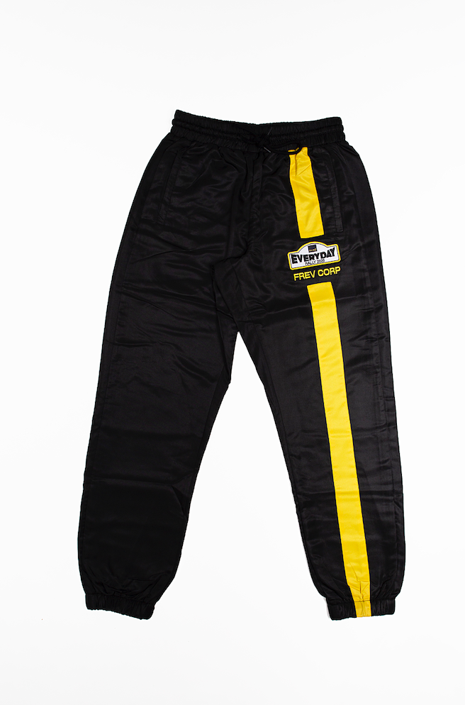 FREV CORP. Pants (Racing Edition) Black