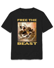 Load image into Gallery viewer, FREE THE BEAST T-SHIRT