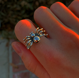 Silver Spider Ring