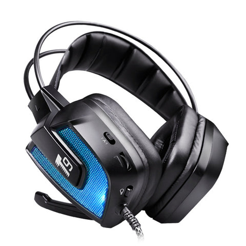50mm LED Flashing Vibration Gaming Headphone Headset With Mic