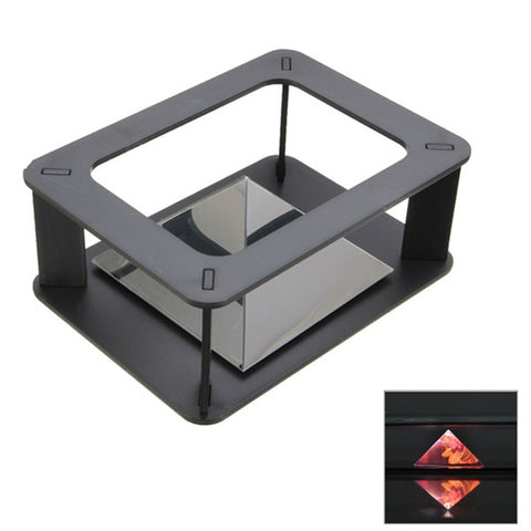 DIY Holographic 3D Display Cabint Projector Box for Samsung iPhone HTC Smartphone
