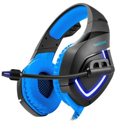 ONIKUMA Gaming Headphone Over Ear Headset Headphone with Mic