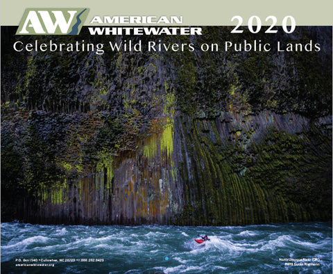 2020 American Whitewater Calendar