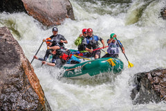 Raft Team - Individual - Downriver Sprint through Gore Canyon