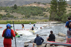 SUP Cross - Pumphouse/ Gore Canyon Whitewater Park