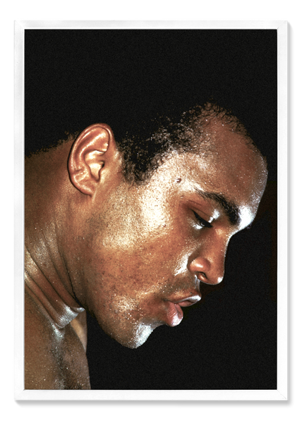 Ali Exhale by Thomas Hoepker (framed)