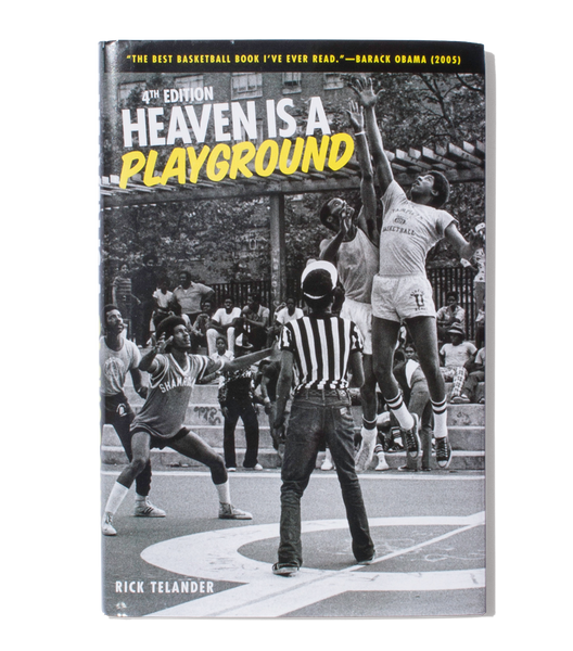 Heaven is a Playground by Rick Telander, 4th Ed., signed