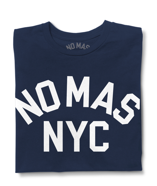 No Mas NYC navy