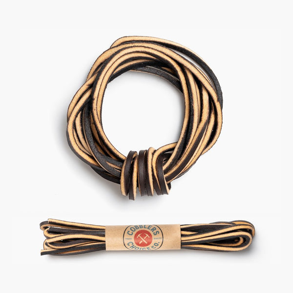 Premium Leather Laces | Cougar Brown
