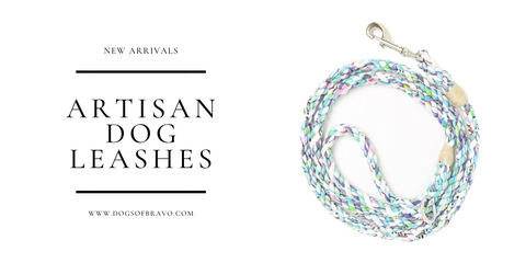 Artisan Dog Leashes Great Gifts for Dog Lovers