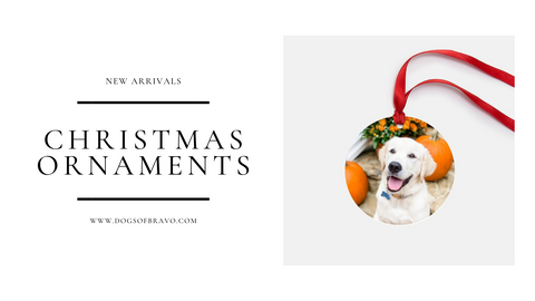 Custom Christmas Ornaments Great Gifts for Dog Lovers