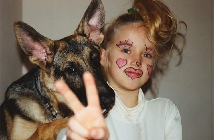 Bravo TV Star and Fellow Dog Lover Courtney Skippon and her friends dog Ollie the Yoodle