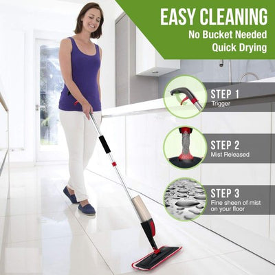 Healthy Spray Mop.
