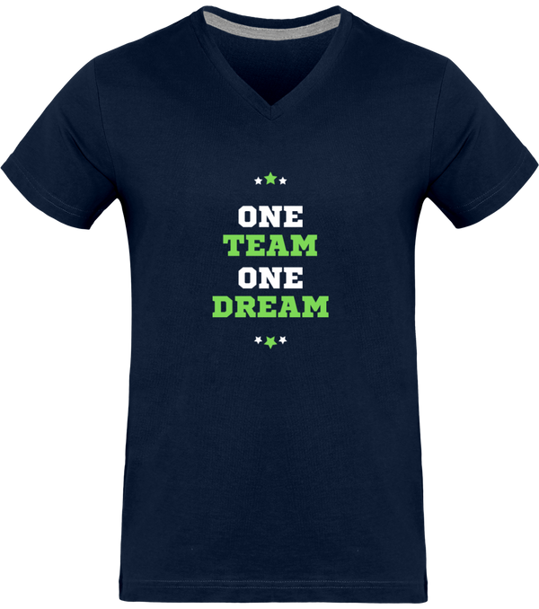 one team one dream tee shirt punchline