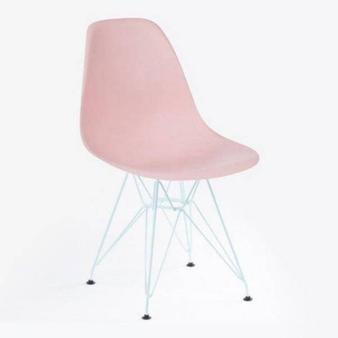 Chaise De Bureau Scandinave Rose
