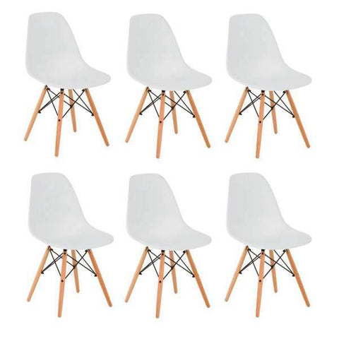 Chaise Scandinave Lot de 6
