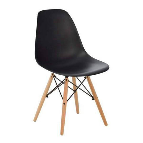 Chaise Scandinave Noir