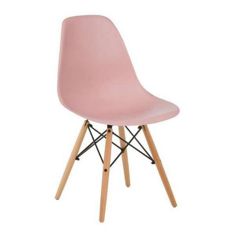Chaise Scandinave Rose Pâle