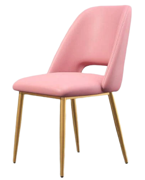 Chaise de Bar Scandinave Rose