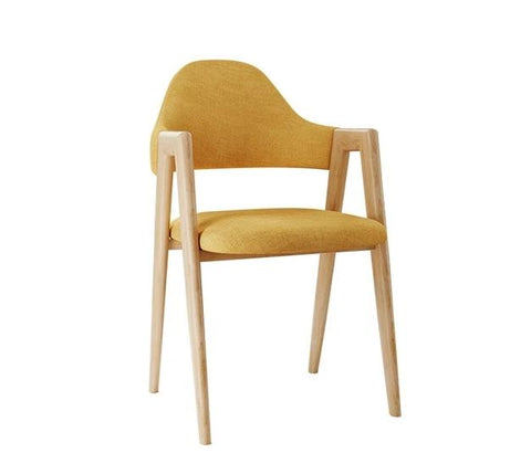 Chaise Nordique Jaune