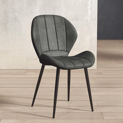 Chaise Scandinave Anthracite Moderne Classe