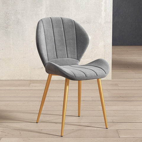 Chaise Scandinave Grise Moderne Classe