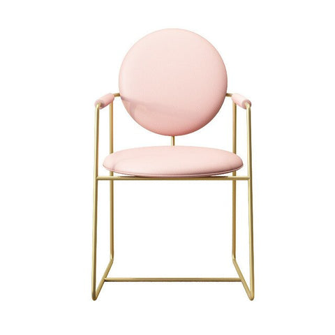 Chaise Scandinave Fer Forgé Rose