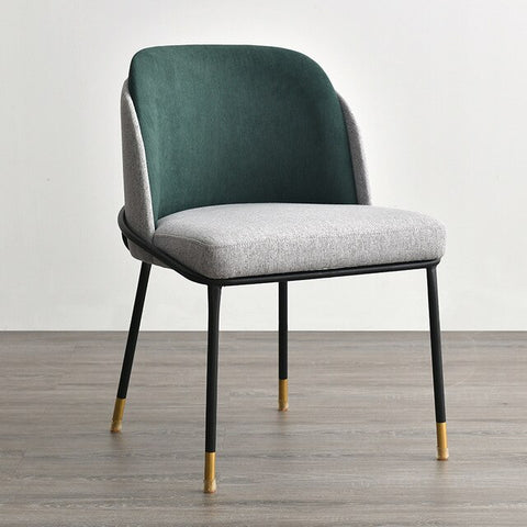 Chaise Scandinave Somptueuse Grise Verte