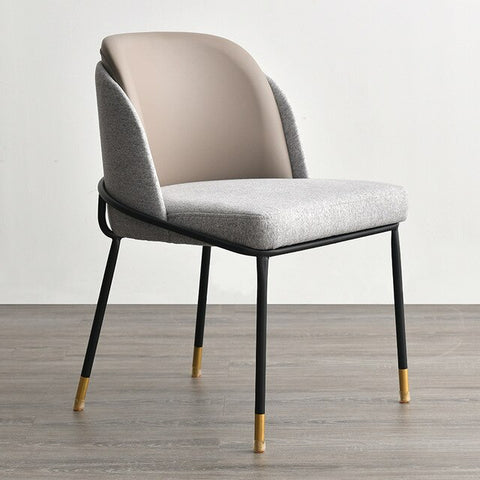 Chaise Scandinave Somptueuse Grise Perle