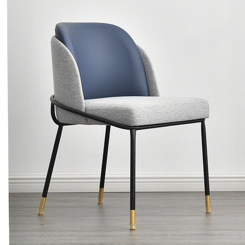 Chaise Scandinave Somptueuse Grise Bleu
