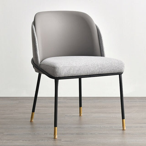 Chaise Scandinave Somptueuse Grise