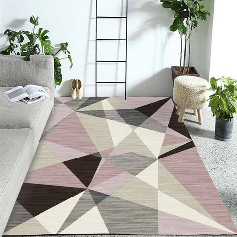 Tapis Scandinave Multi Triangle | Chaises Scandinave