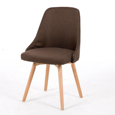 Chaise Scandinave Classe Cacao