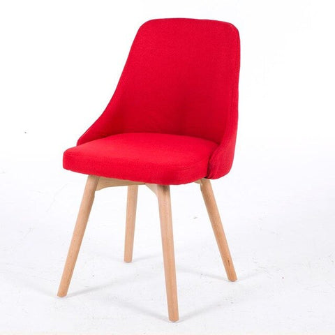 Chaise Scandinave Classe Rouge