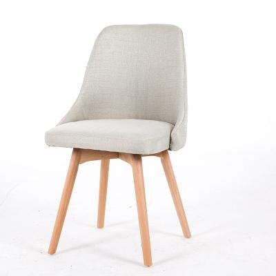 Chaise Scandinave Classe Gris Perle