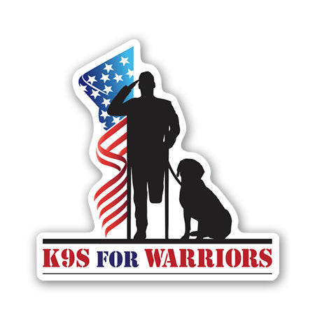 K9 for Warriors Bumper Sticker